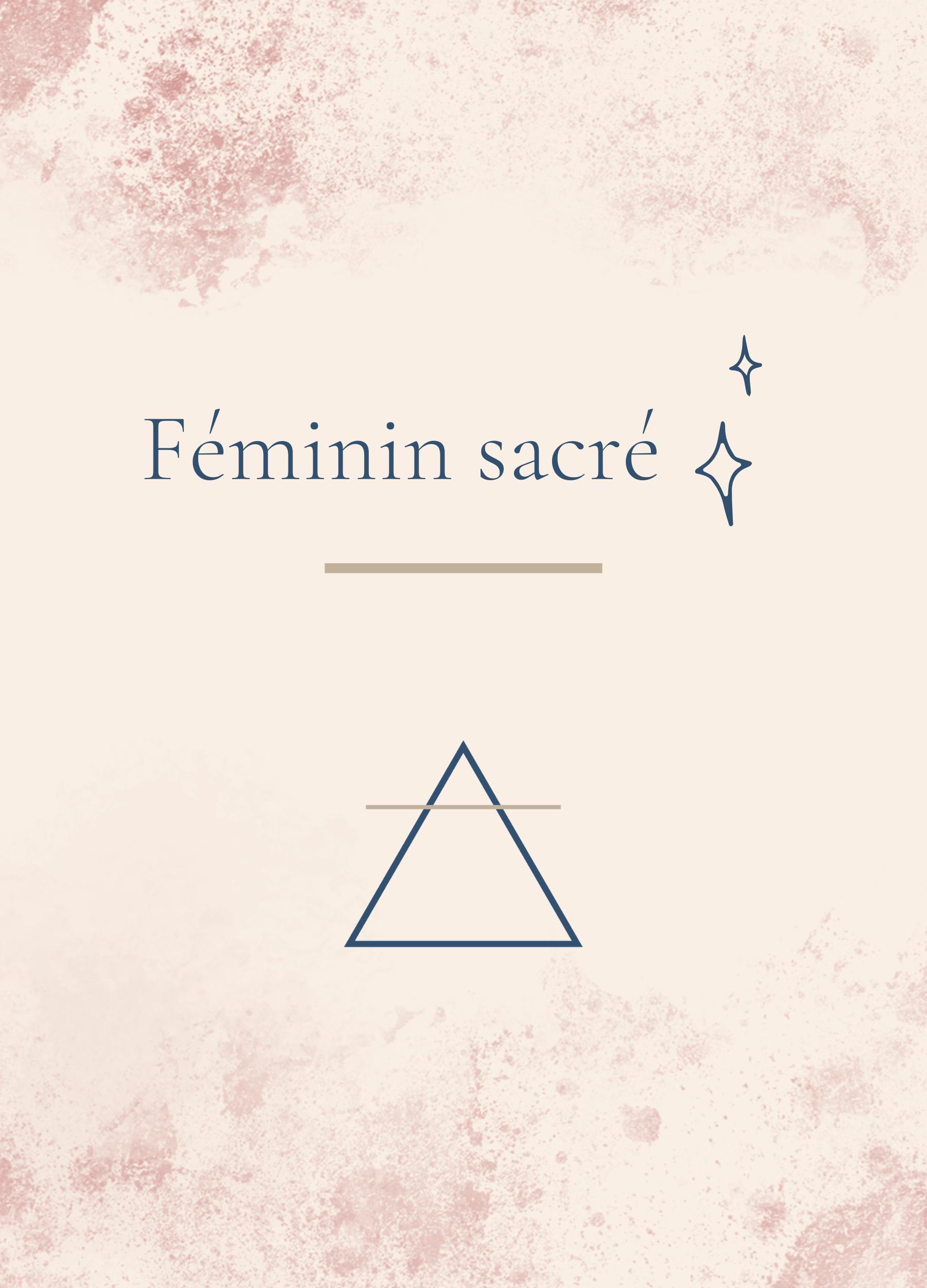 service feminin sacre